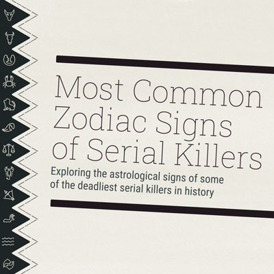Most Common Zodiac Signs Of Serial Killers | Astrology-zodiac-signs.com